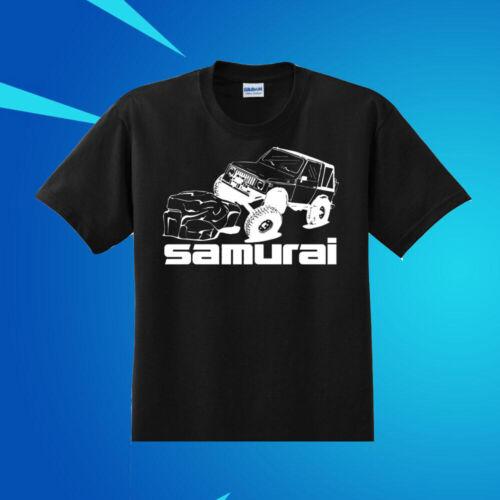 RARE SUZUKI SAMURAI MODIFIED TDI 4x4 OFF ROAD VEHICLE T SHIRT COTTON SIZE S-2XL