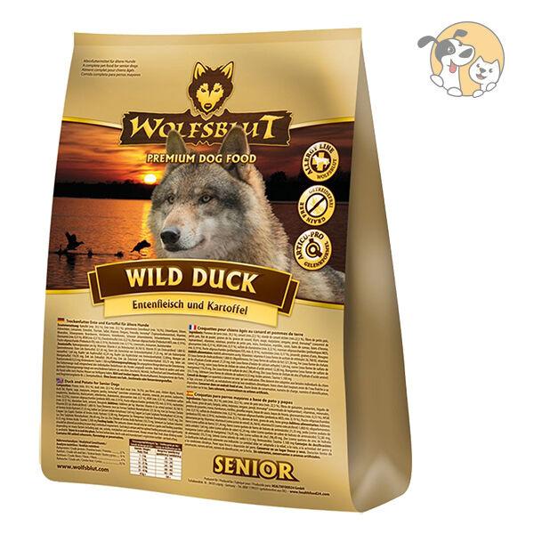 WolfsBlaut Wild Wild Wild Duck Senior 15kg ce28cc