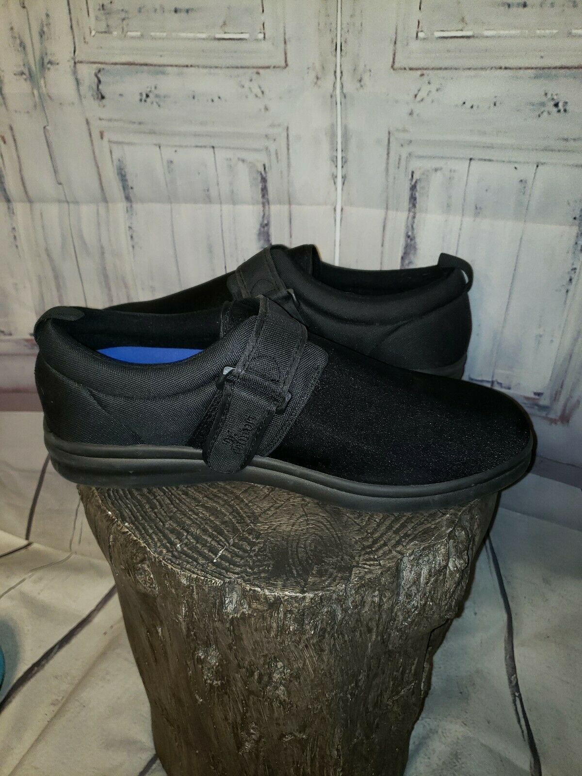 Dr Comfort Men ShoeS Carter 12XW Black Casual Vel… - image 3