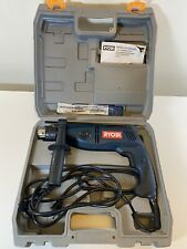 Ryobi 12 Corded Reversible Electric Hammer Drill W Case