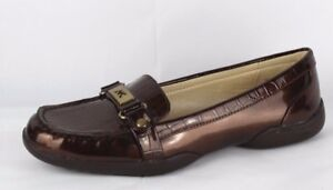 Strict Anne Klein Sport Cincey Women's Slip On Flats Loafer Shoes Size 6.5 M Women's Shoes
