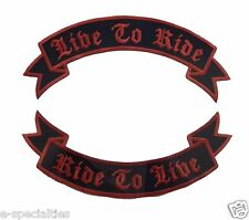 NORTHERN TERRITORY NT AUSTRALIA White /& Black Back Rocker Biker Patch CUS-0106