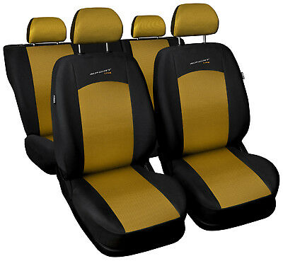 Grey /& Black Sports Style Seat Cover set