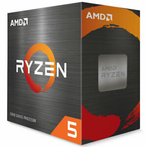 AMD Ryzen 5 5600X Desktop Processor (4.6GHz, 6 Cores, Socket AM4)