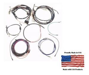 wiring harness for ford 3000 complete wiring harness ford 2000 3000 4000 3 cylinder gas tractor  2000 3000 4000 3 cylinder gas tractor