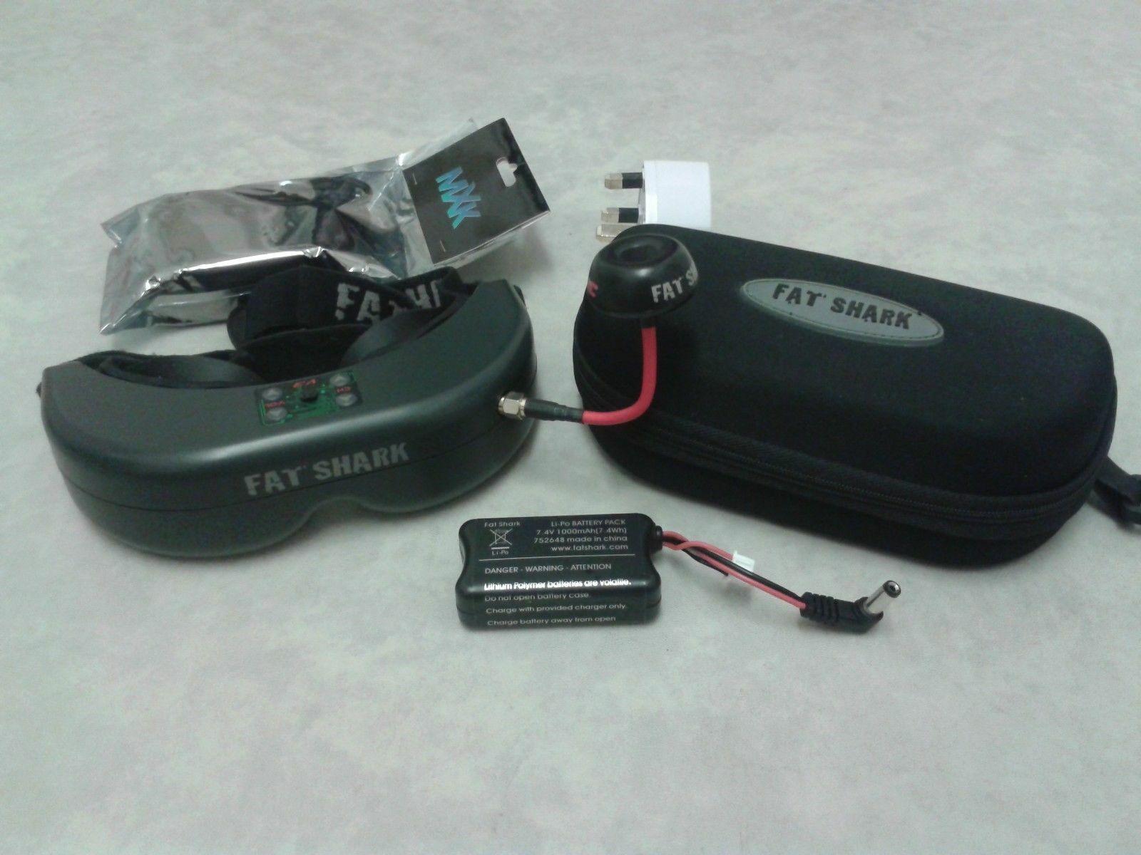 FatShark Teleporter V3 Fpv Gafas 5.8GHz Cargador RC Racing Drone plano de cuatro