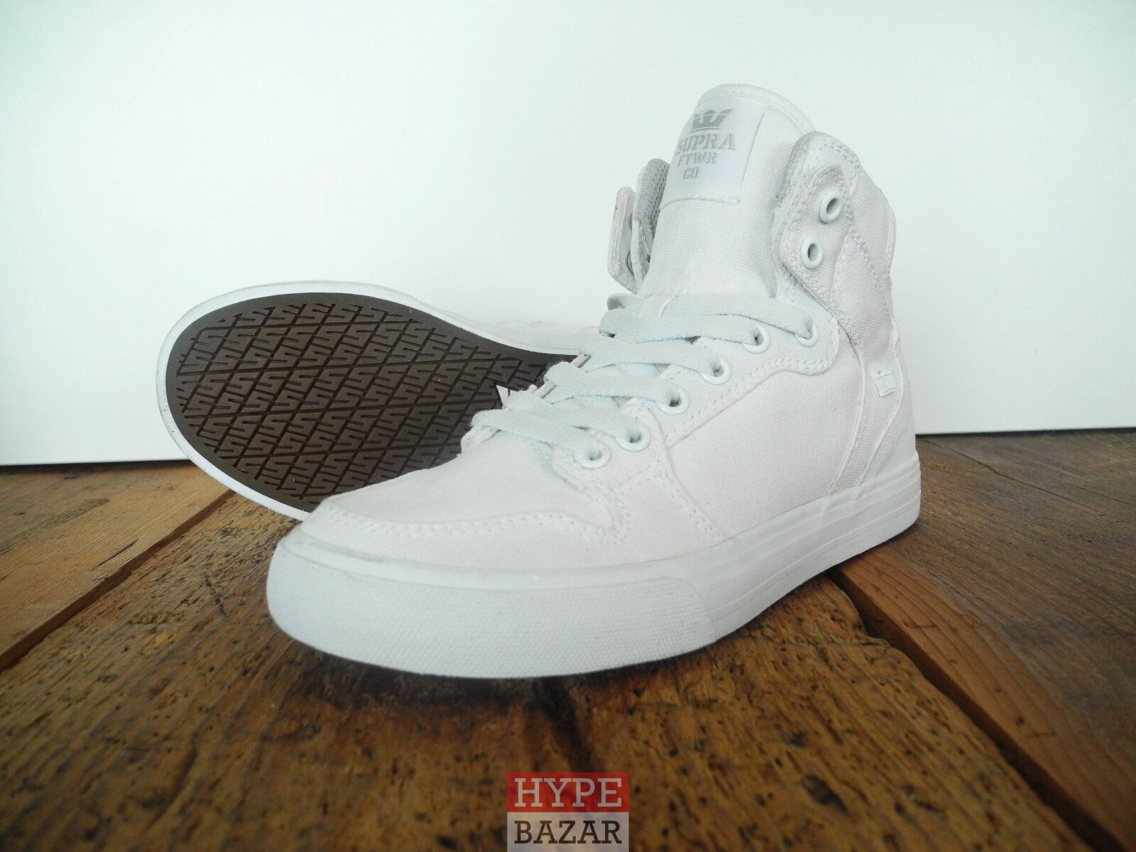 Supra Footwear Vaider Sneaker New White Size  US 7 EUR 38 Supra shoes