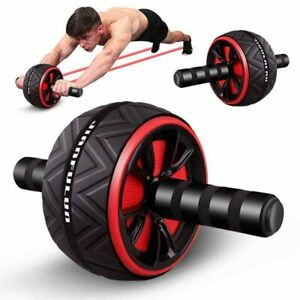 Ab Wheel Exercise Gym Roller Abdominal Muscle Fitness Core Roller ABS Trainer US