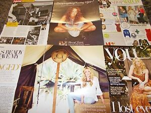 SHERYL-CROW-CELEBRITY-CLIPPINGS-PACK-GOOD-CONDITION