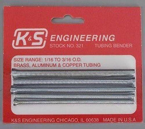 K/&S Tube Bending Spring Set Pack of 5 MKS321