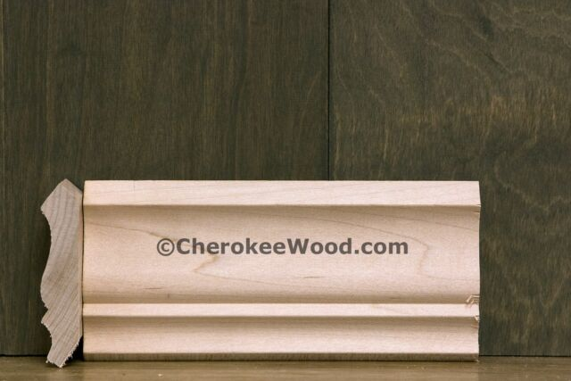 "2-3/4"" Crown Moulding available in Alder, Cherry, Maple, Oak & Poplar"