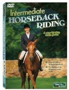 INTERMEDIATE HORSEBACK RIDING DVD   Step by Step Video Lessons  Brand New Sealed
