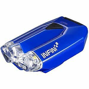 Infini Lava super bright micro USB front light with QR bracket blue blue