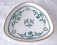 Porzellanschale 16 cm - grüne Malerei und Goldrand - Langenthal Swisse A. ST.