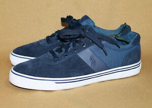 10d Suedeamp; Navy Ralph Hanford Mesh Sneaker Lauren Details About Blue Polo Men's 8w0nOPk