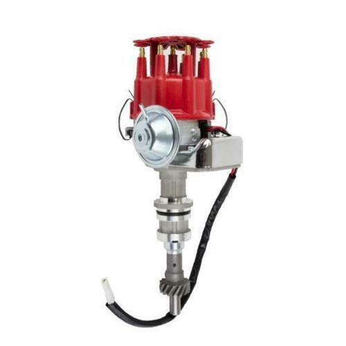Billet Distributor 8.5mm Spark Plug Wires Coil Big Block Ford 351C 400 429 460