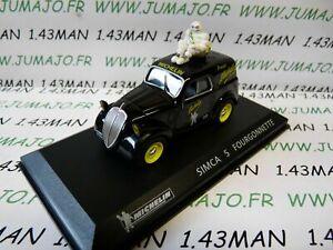 voiture-1-43-IXO-altaya-MICHELIN-SIMCA-5-fourgonette-Bibendum-pneus