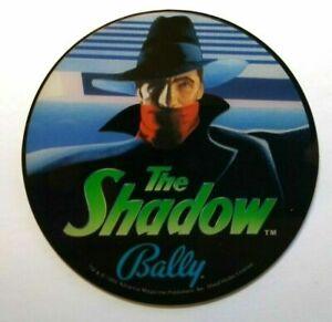 Bally The Shadow Pinball machine Promo Original NOS Plastic Masked Man 1993
