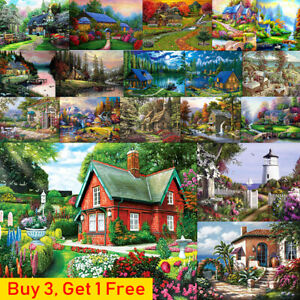 Village-House-Full-Drill-DIY-5D-Diamond-Painting-Embroidery-Cross-Stitch-Kits