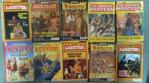 10 Wildwestromane LASSITER UNGER usw. Westernromane Western Romane Hefte