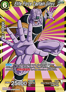 NM//M Dragon Ball Super 1x Elite Force Captain Ginyu BT1-095 SR