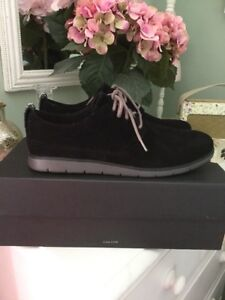 56d656c1f44 BNWT Men's UGG Black Suede Bowmore Treadlite Shoes/Trainers, UK Size ...