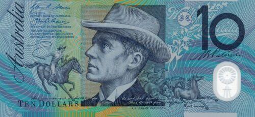 AUSTRALIA $10 Dollars 2015 Stevens//Fraser Old Generation Gen Prefix UNC Banknote