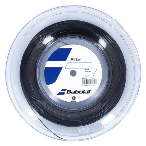 Babolat RPM Blast 17G 1.25mm (black) 660ft 200m Reel Tennis String