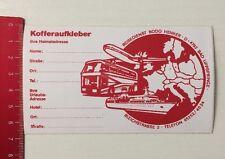 Aufkleber/Sticker: Kofferaufkleber - Reisedienst Bodo Henker (15041658)