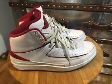 buy popular d81ea c416b item 4 Nike Air Jordan 2 II Retro Chicago Bulls White Varsity Red  385475-102 US 11 -Nike Air Jordan 2 II Retro Chicago Bulls White Varsity Red  385475-102 US ...