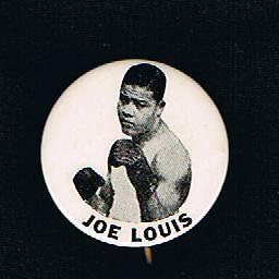 RARE-1940-039-s-World-Champion-Joe-Louis-boxing-pinback-button-boxer-Brown-Bomber