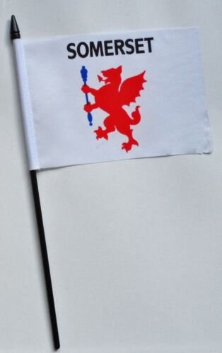 Somerset County Council Small Hand Waving Flag