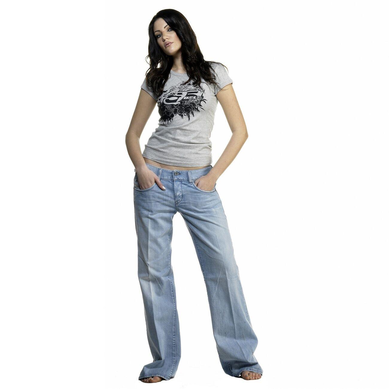 Diesel VIXY Damenjeans Jeans W27 L34 hellblau VIXY L.34 00C539 008SZ 01