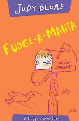 """AS NEW"" Blume, Judy, Fudge-a-Mania, Paperback Book"