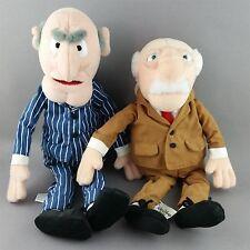 Waldorf Statler Plush Bean Bag Doll Muppets Grumpy Men NWT