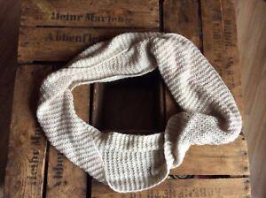Details zu H&M XXL Schlaufenschal Loop Damen Tuch Wollschal Strickschal Schal Winter Hals