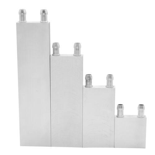 Wasserkühlung Kühlkörper Block Kühler Flüssigkeitskühler Aluminium für CPU  TPD