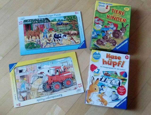 Ravensburger Spiel Hase Hüpf / ab 2 Jahre günstig kaufen ...