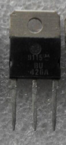 6.0A,375-400V,113W BU426A  POWER TRANSISTORS