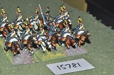 25mm napoleonic austrian hussars 12 cavalry (15781) painted by mac warren