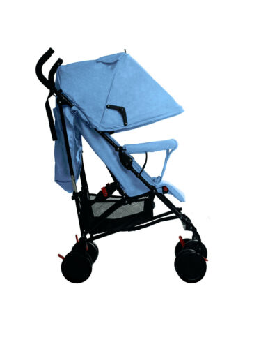 Buggy Stroller Travel Buggy Summer Blue Lightweight Pushchair for Kids uk