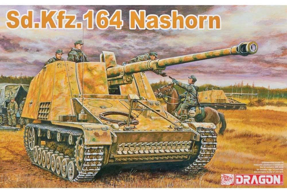 Dragon 6166 1 35 Sd.Kfz.164 Nashorn (Poland, Autumn 1944)