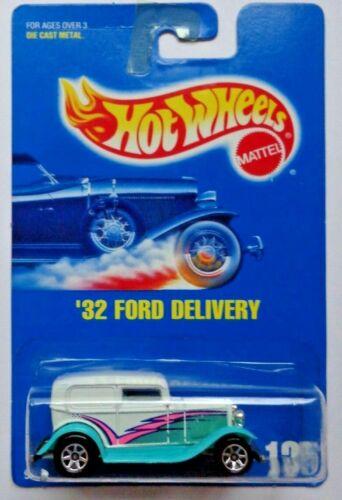 #135 7 Spoke Hub Wheels 1992 Hot Wheels /'32 Ford Delivery Col