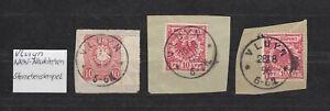 DR-Stempel-K1-034-VLUYN-034-NRW-Neukirchen-dreimal-auf-Briefstuecken-bitte-ansehen