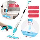Water Spray Household Flat Mop Floor Cleaner 360 Spin Head Dust Mop Replaceable