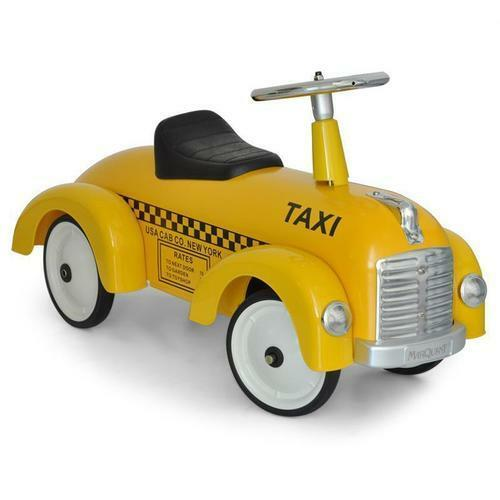 Taxi yellow in in in metallo a spinta 891TX  70 cm. 219