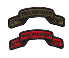 27th Infantry Regiment Embroidered Tabs - Wolfhounds - Light Infantry - Vietnam