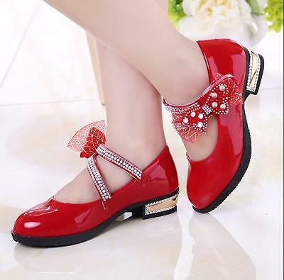 Ths01 Fashion Kids Girls Princess Rain Boots Crystal Transparent Rubber Shoes Li