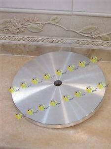 250mm-THK-DIAMANT-Fest-Laeppscheibe-Aluminium-Grundplatte-flache-Runden-diamant