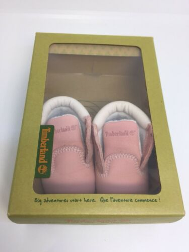 Talla Pink Baby 0 Leather Botas Toddler New Girls Timberland Infant nzAxOtP1